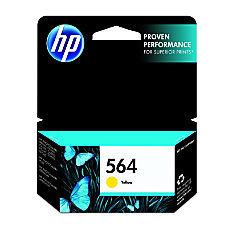 HP 564, Yellow Original Ink Cartridge (CB320WN)
