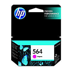 HP 564, Magenta Original Ink Cartridge (CB319WN)