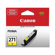 Canon CLI-271 Yellow Ink Tank (0393C001)