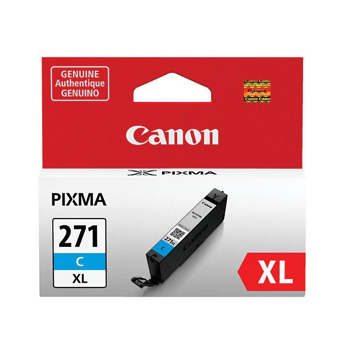 Canon CLI-271XL High-Yield Cyan Ink Tank (0337C001)