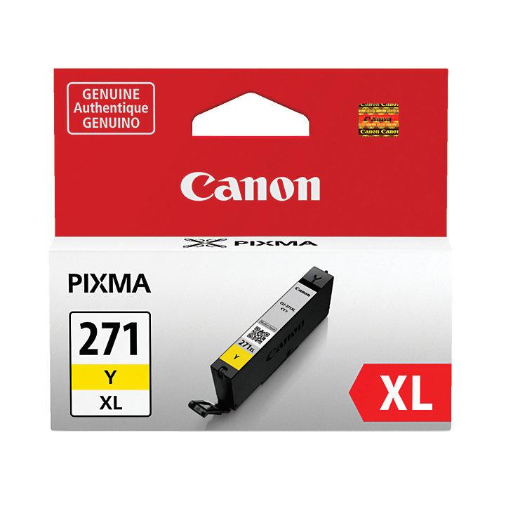 Canon CLI-271XL High-Yield Yellow Ink Tank (0339C001)