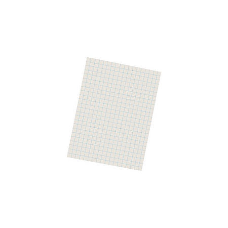 Pacon Quadrille-Ruled Heavyweight Drawing Paper, 1/2 inch Squares, White, Pack Of 500 Sheets