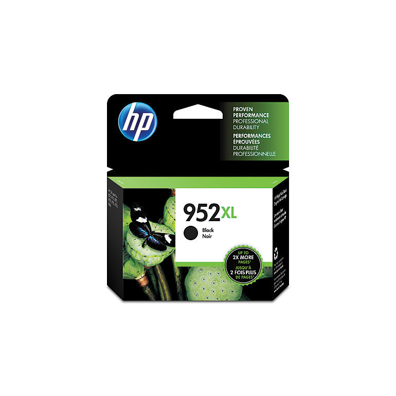 HP 952XL Black Ink Cartridge (F6U19AN#140)