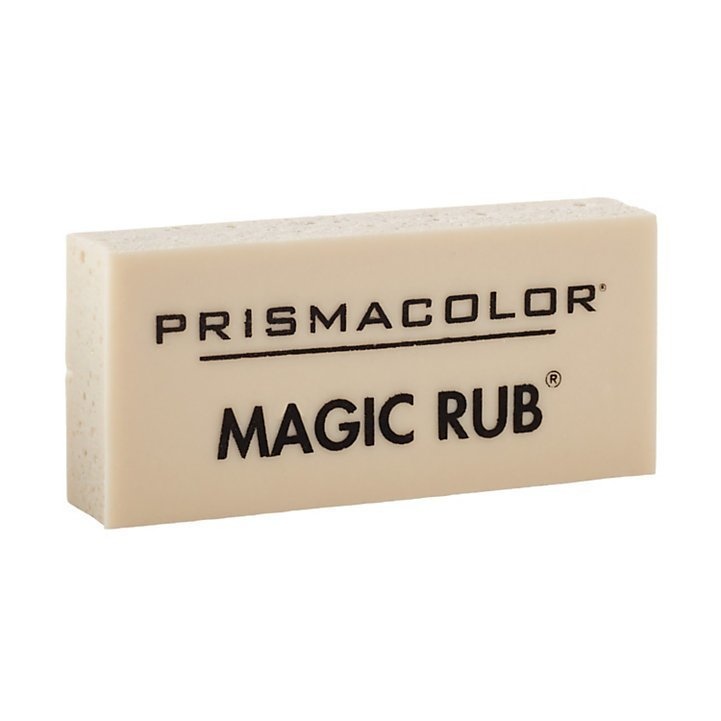 Prismacolor Magic Rub Vinyl Eraser, White