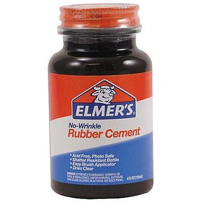 Elmer's Rubber Cement, 4 Oz.