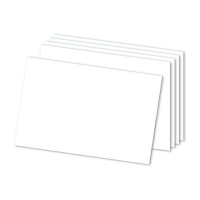 Office Depot Brand Blank Index Cards, 4