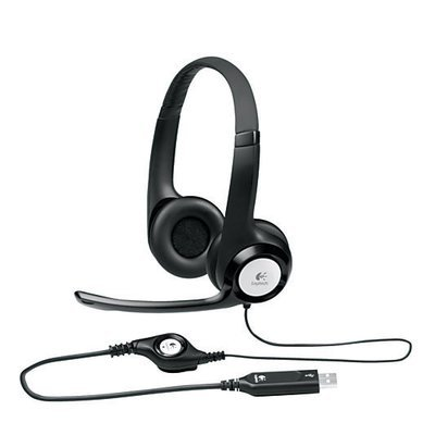Logitech ClearChat Comfort USB Over The Ear Headset With Microphone