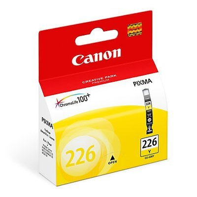 Canon CLI-226 ChromaLife 100+ Yellow Ink Tank (4549B001)