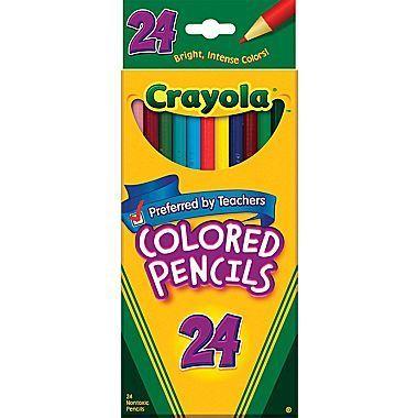 Crayola® Color Pencils, Box Of 24