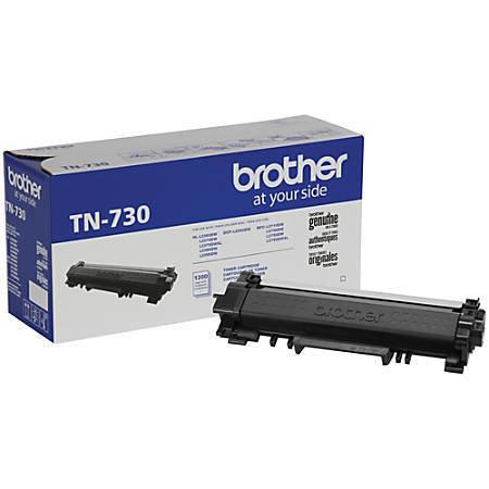 Brother® Black Toner Cartridge, TN730