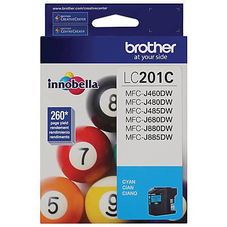 Brother LC201C Cyan Ink Cartridge