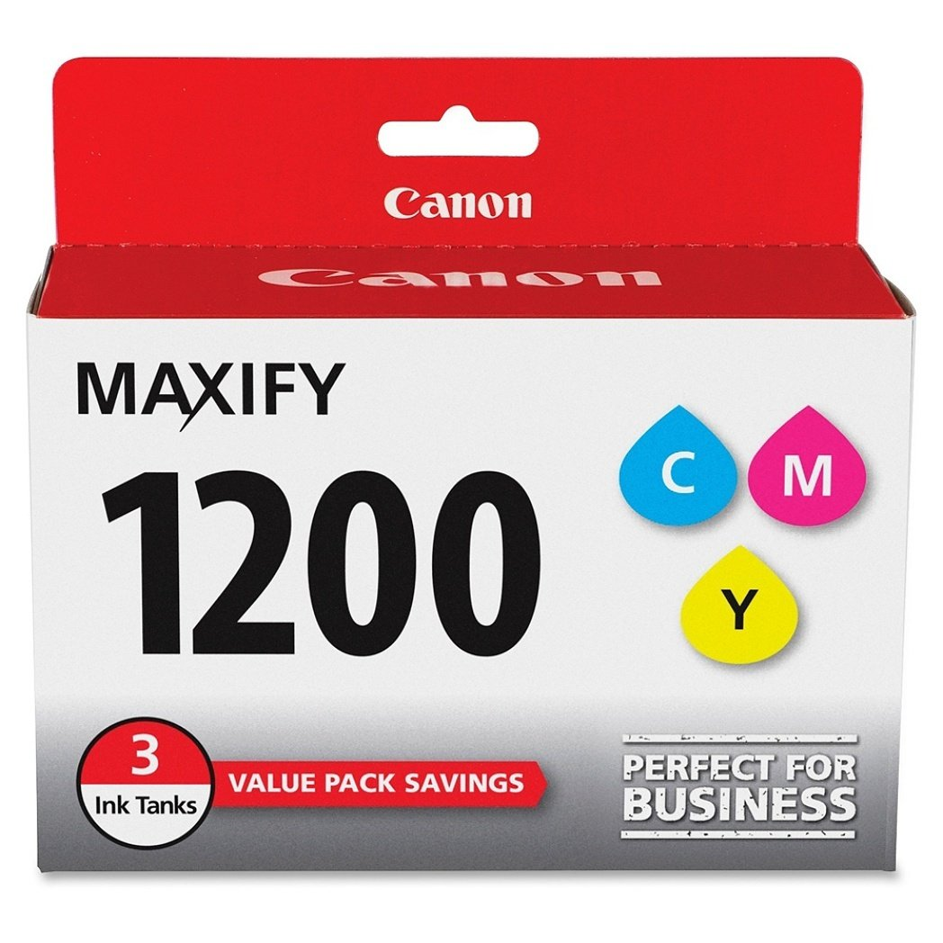 Canon PGI-1200 CMY Original Ink Cartridge 3 Pack