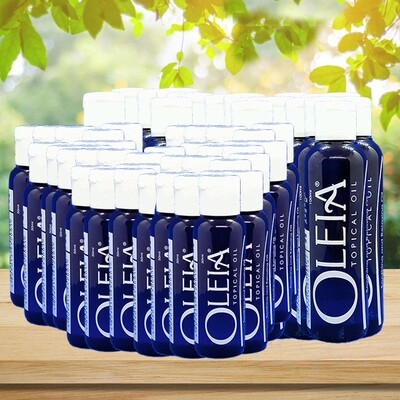Oleia Wholesale Pack: 50ml:50 bottles, 100ml:40 bottles