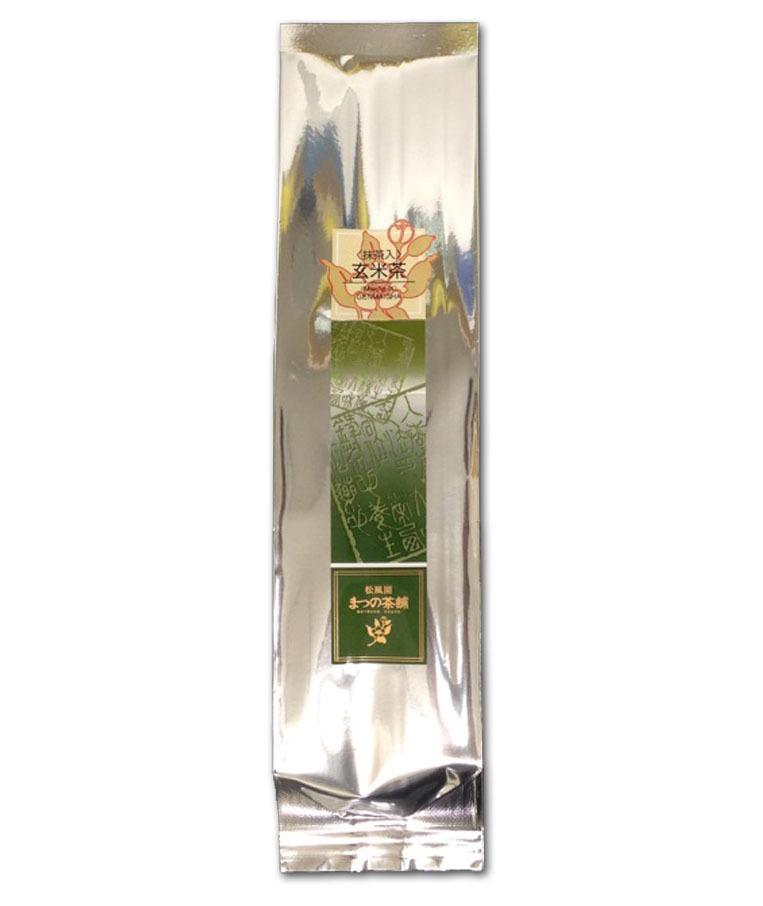 Matcha iri Genmaicha (Green tea with brown rice and matcha powder) 100g