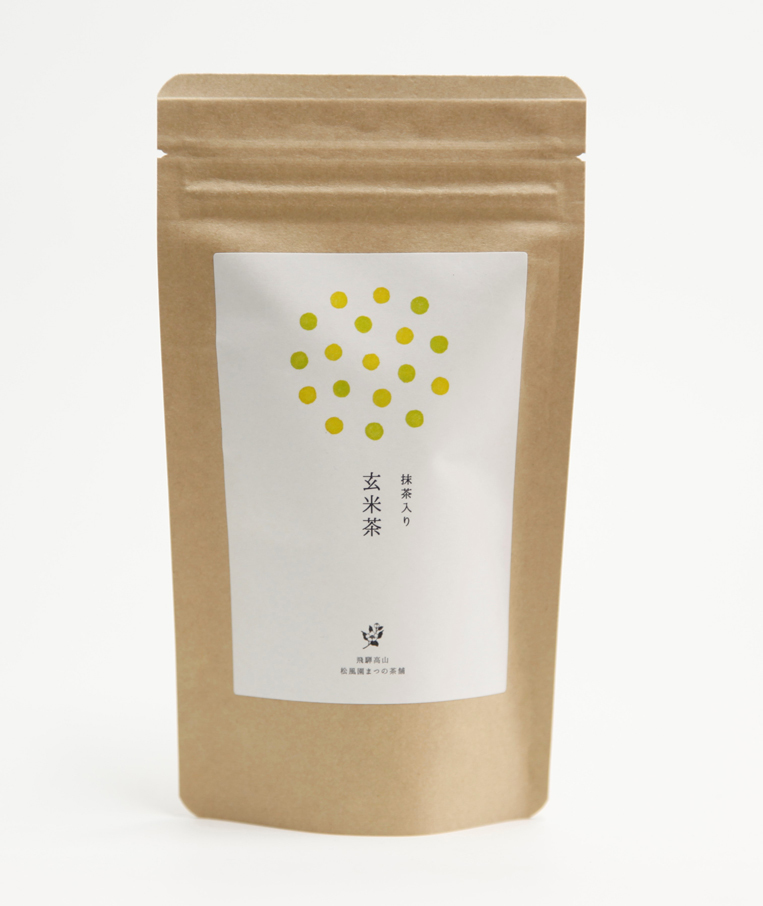 Matcha iri Genmaicha (G​reen tea with brown rice and matcha powder) Teabags  3g×12
