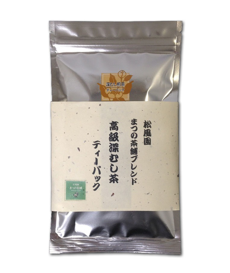 Fukamushicha (Deep Steamed Green Tea) Tea Bags  5g×18