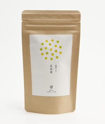 Matcha iri Genmaicha (Green tea with brown rice and matcha powder) Teabags  3g×12