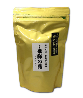 Ao Hojicha (Light Roasted Green Tea) Hida no Tsuyu Teabags 5g×24