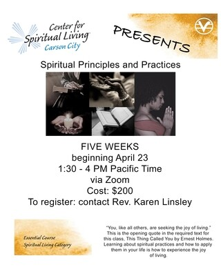 Spiritual Principles and Practices Class