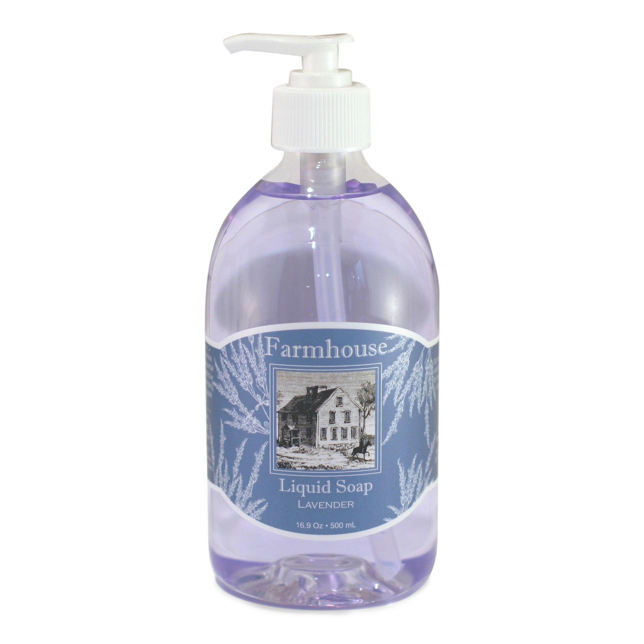 Farmhouse Lavender Liquid Soap XJ22YXX8YHYHC