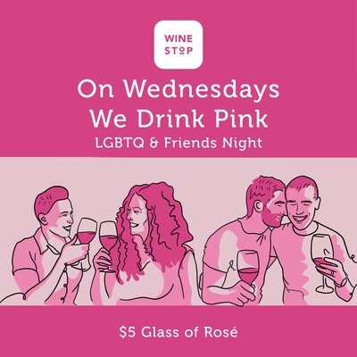 Every Wednesday: 'We Drink Pink'