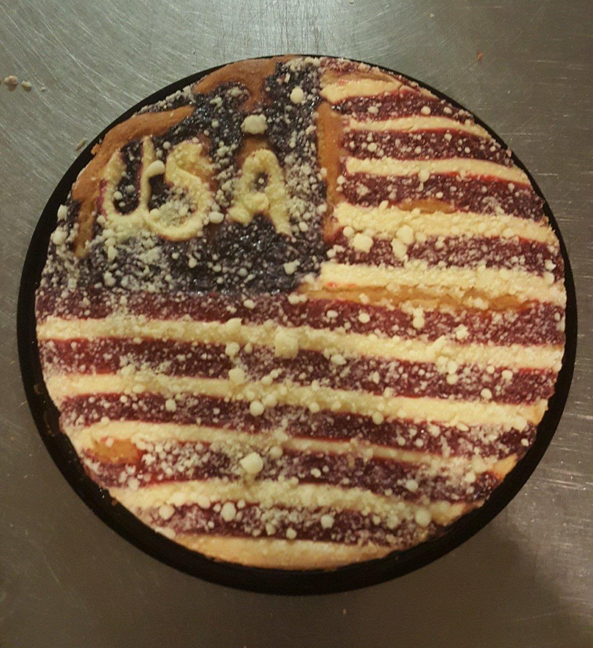 Fourth of July U.S.A. Cake 00089