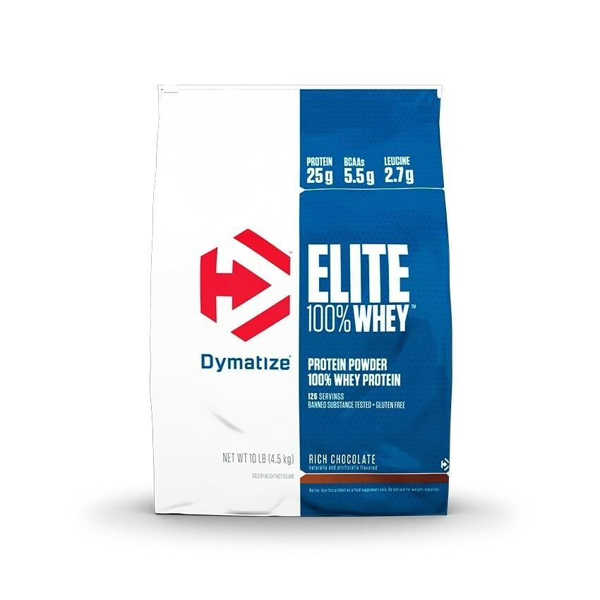 Dymatize Elite 100% Whey Protein - 10 lbs 705016560202(base)