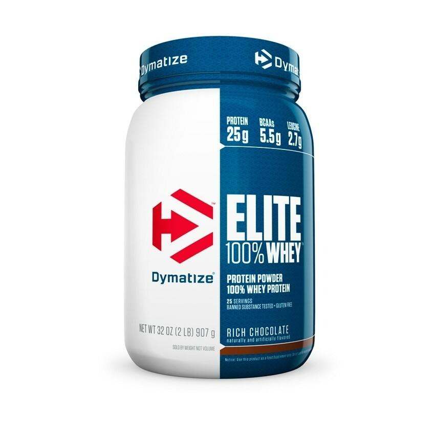 Dymatize Elite 100% Whey Protein - 2 lbs 705016599165(base)