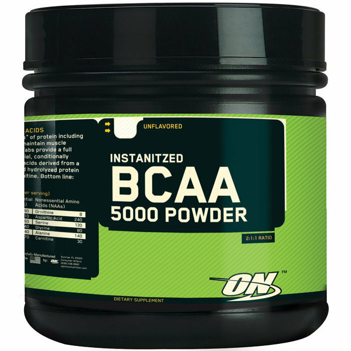 Optimum Nutrition BCAA 5000 Powder - 60 Servings 748927025224