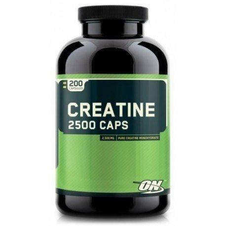 Optimum Nutrition Creatine 2500 200 Capsules 748927021349