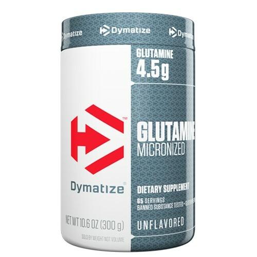 Dymatize Glutamine Micronized 300g 705016163007
