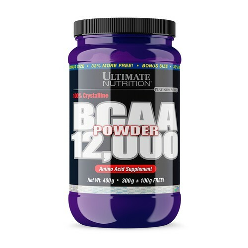 Ultimate Nutrition BCAA 12000 Powder 400g - Unflavored 99071004024