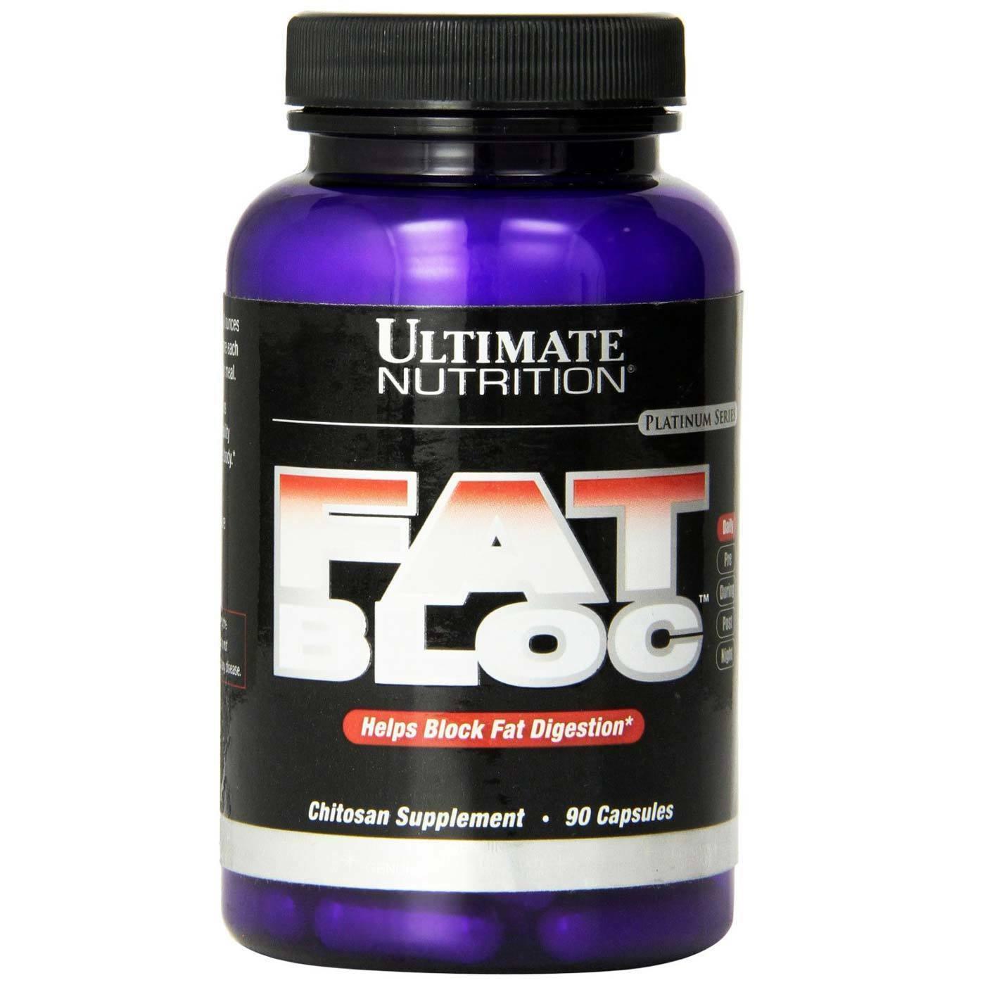 Ultimate Nutrition Fat Bloc 90 Capsules 1007687