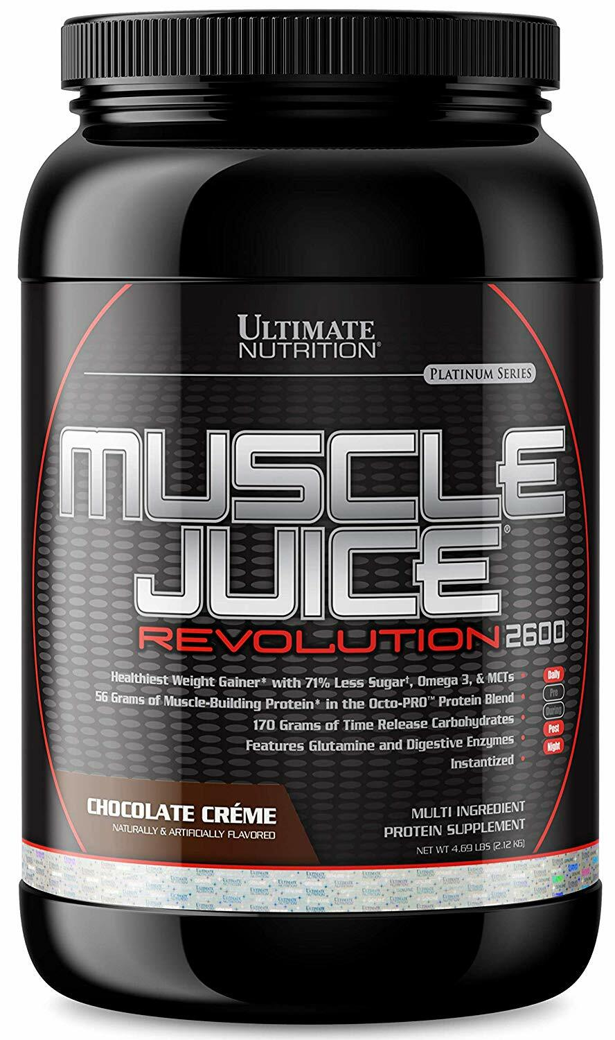 Ultimate Nutrition Muscle Juice Revolution 2600 4.7lbs 99071002303(base)
