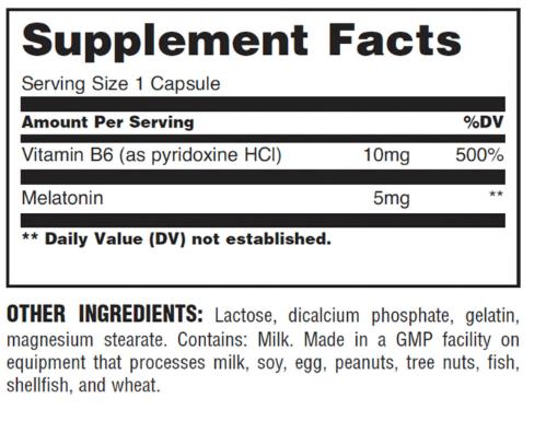 Universal Nutrition Melatonin 5mg