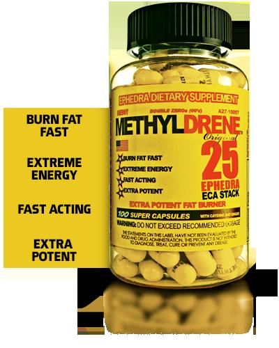 Cloma Pharma Methyldrene Original - 100 Caps 859613638496