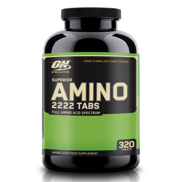 Optimum Nutrition Superior Amino 2222 - 320 Tablets 748927026467