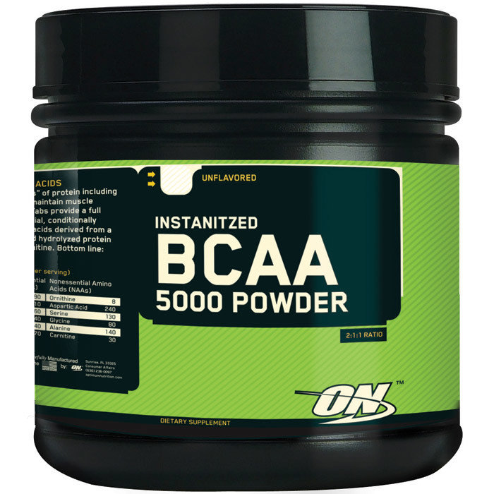 OPTIMUM BCAA5000 Powder 748927025224