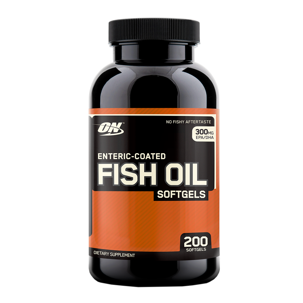 Optimum Nutrition Enteric Fish Oil 200 softgels 748927029857