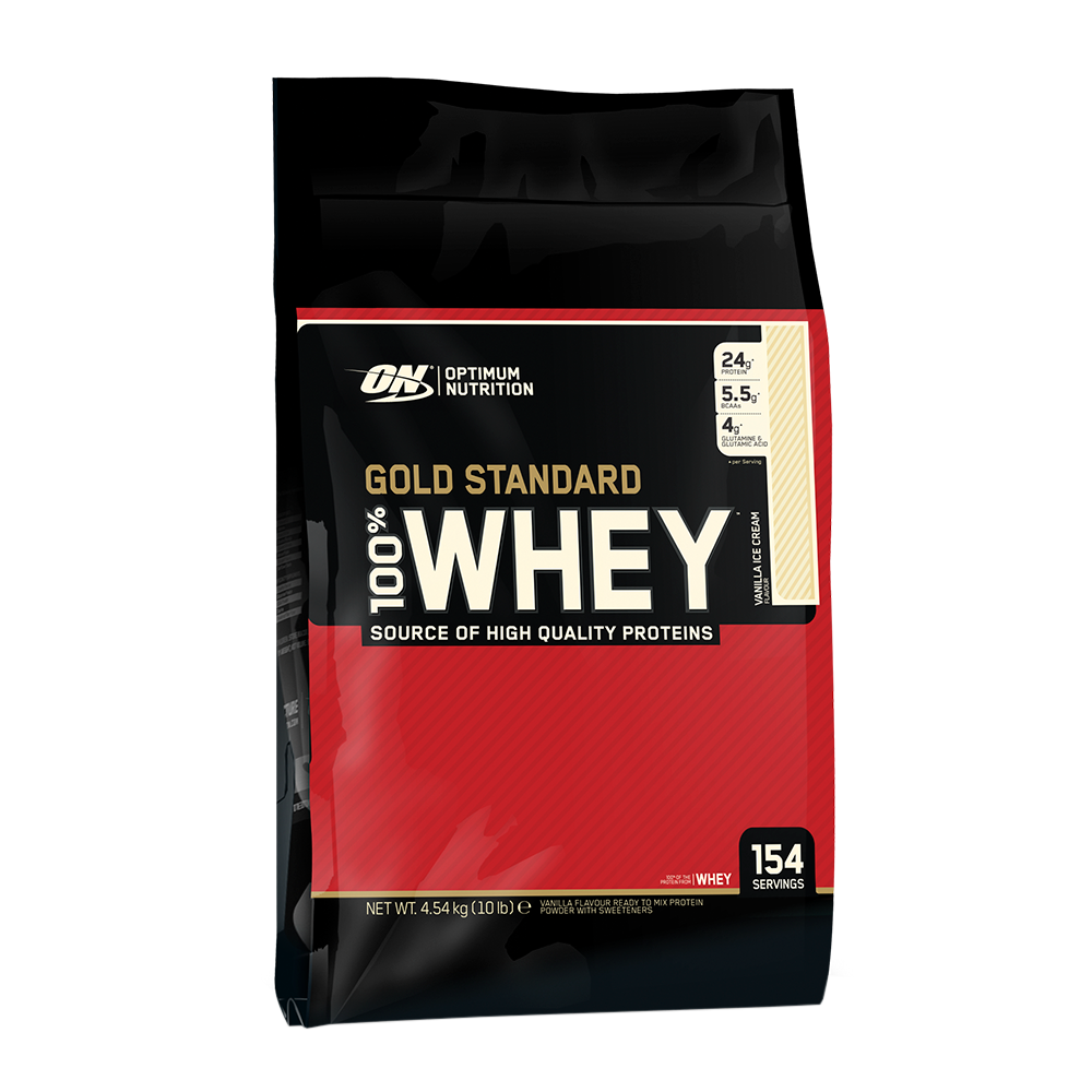 OPTIMUM NUTRITION Whey Gold Standard 10lb 748927028737(base)