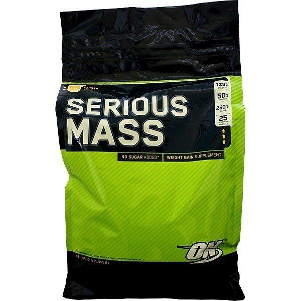 OPTIMUM NUTRITION Serious Mass 12lb 748927023800(base)