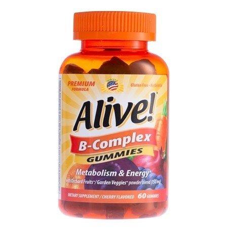 Alive B-Complex Gummies 60ct 33674104835