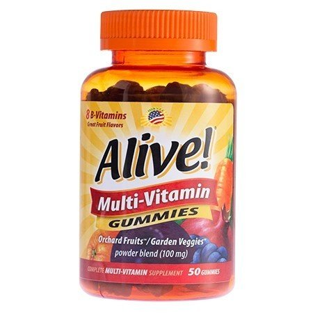Alive Multi-Vitamin Gummies 50ct 33674157879