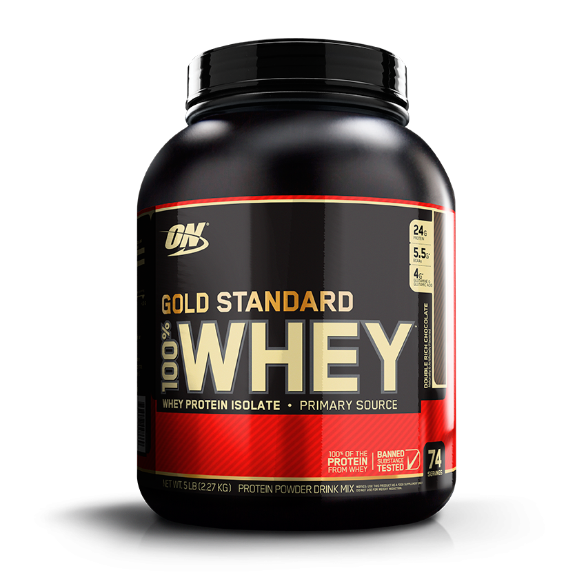 Optimum Nutrition Gold Standard 100% Whey 5lb 748927028683(base)