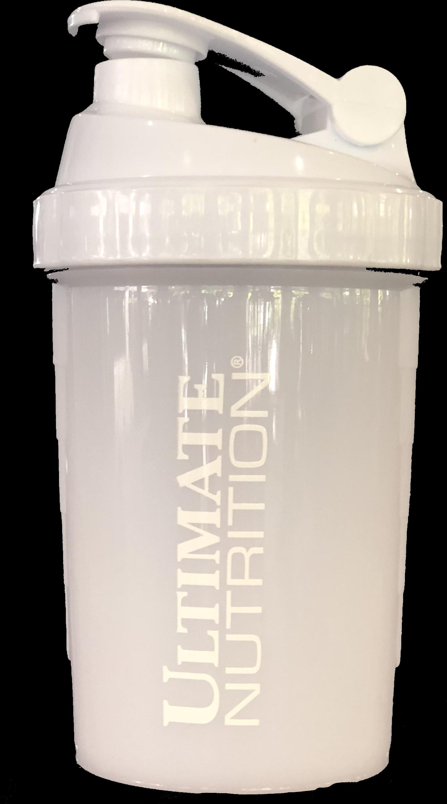 Ultimate Nutrition Shaker Bottle - White 1007664