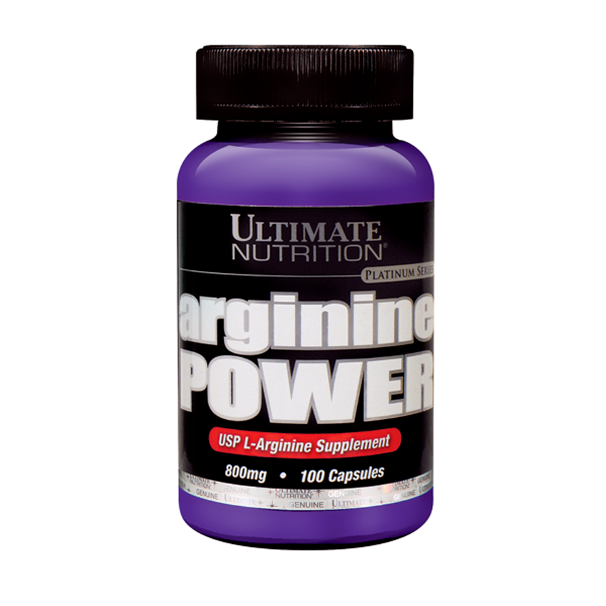 Ultimate Nutrition Arginine Power 100 Caps 99071004239