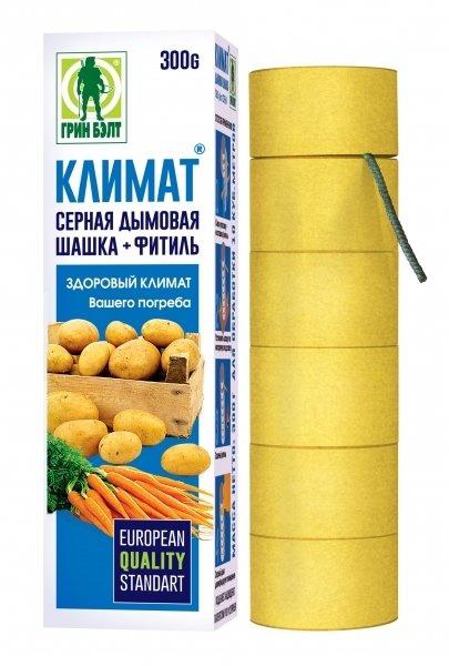 Шашка серная КЛИМАТ 300г GB 01-477 1/40