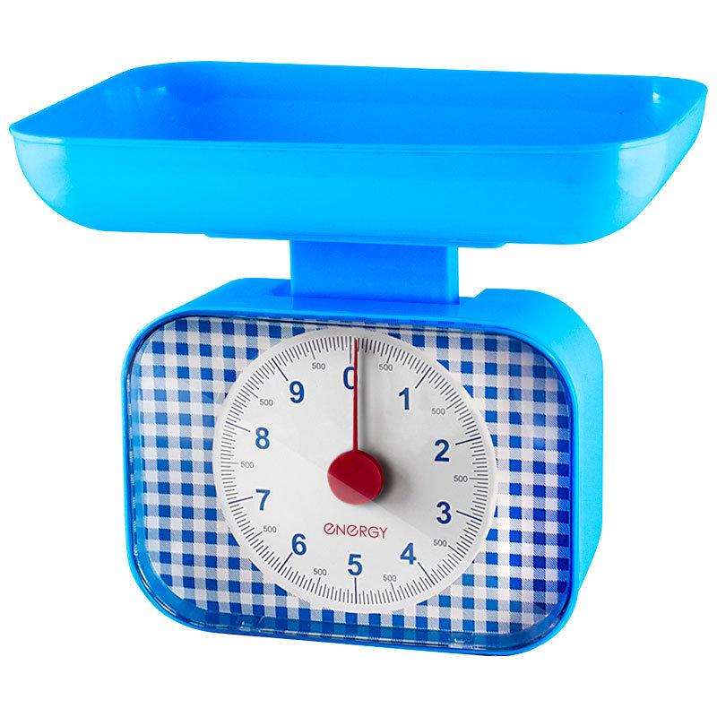 Весы кухонные механические ENERGY EN-410МК (0 -10 кг) квадратные 159660 1/12