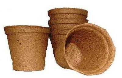 Горшочки торфяные 60х60мм (Экоторф) 1/400
