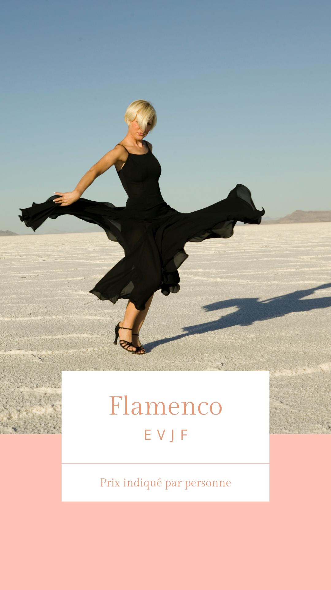 Cours de Flamenco - EVJF Cours de Flamenco